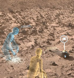 New software, wearable tech puts virtual explorers on Mars.